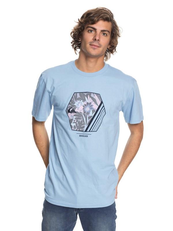 0 Wild Vision - T-Shirt Blue AQYZT05417 Quiksilver