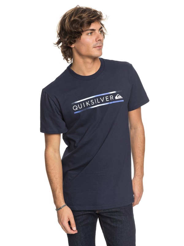 0 Schwack - T-Shirt Blue AQYZT05418 Quiksilver