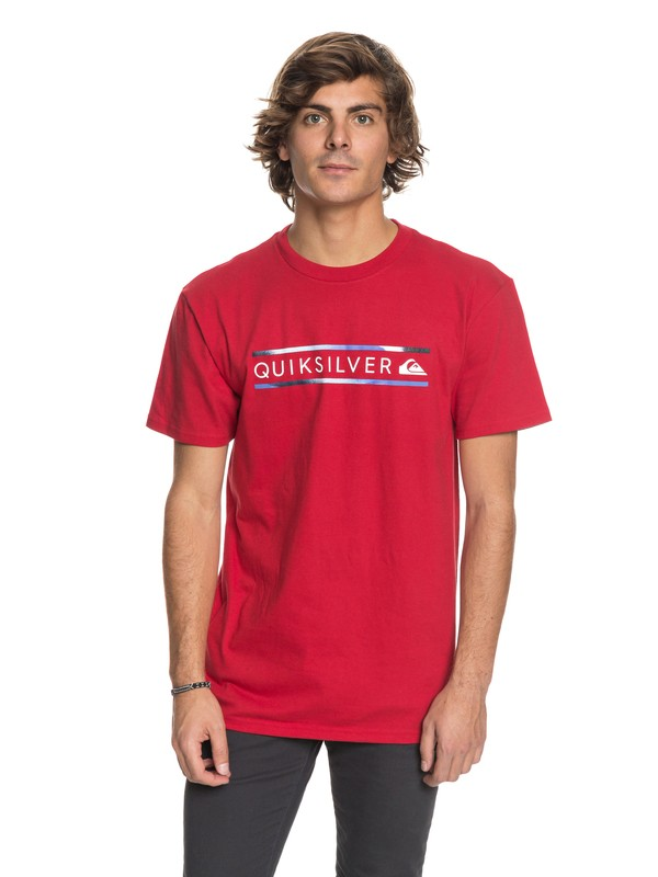 0 Schwack - T-Shirt Red AQYZT05418 Quiksilver