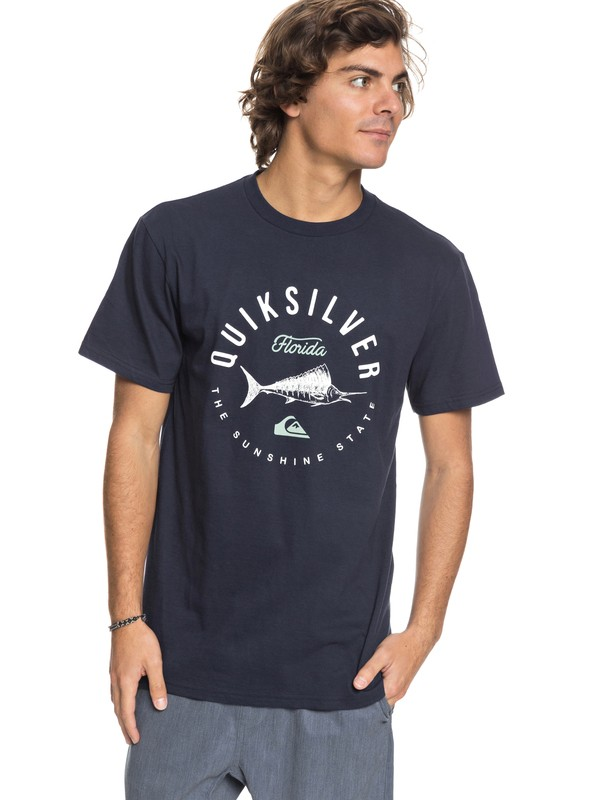 0 Men Florida Fish Camiseta  AQYZT05425 Quiksilver