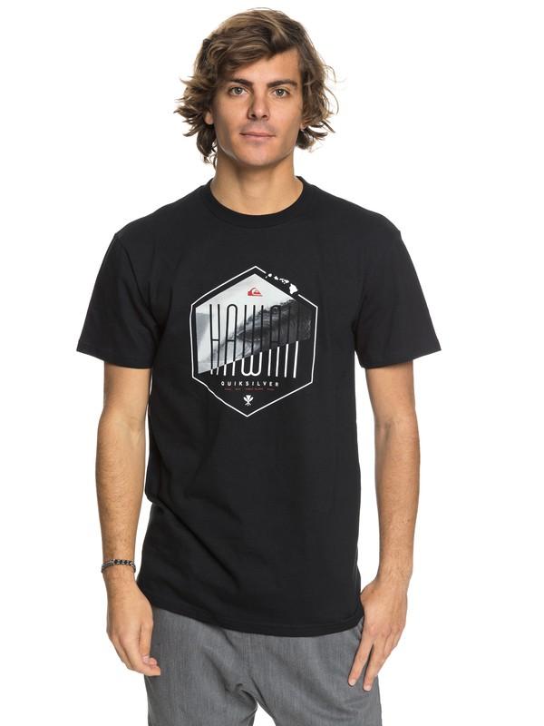 0 Hawaii Losange - T-Shirt Black AQYZT05431 Quiksilver
