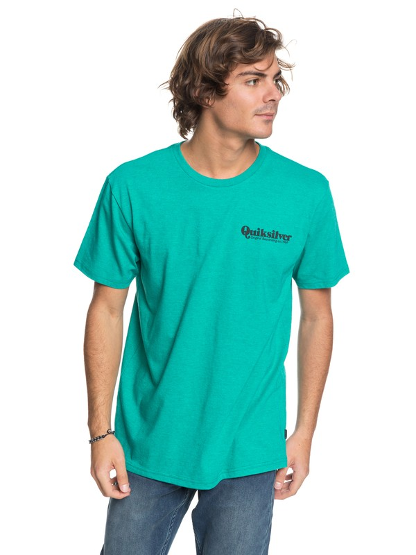 0 Twin Fin Mates - T-Shirt Blue AQYZT05444 Quiksilver
