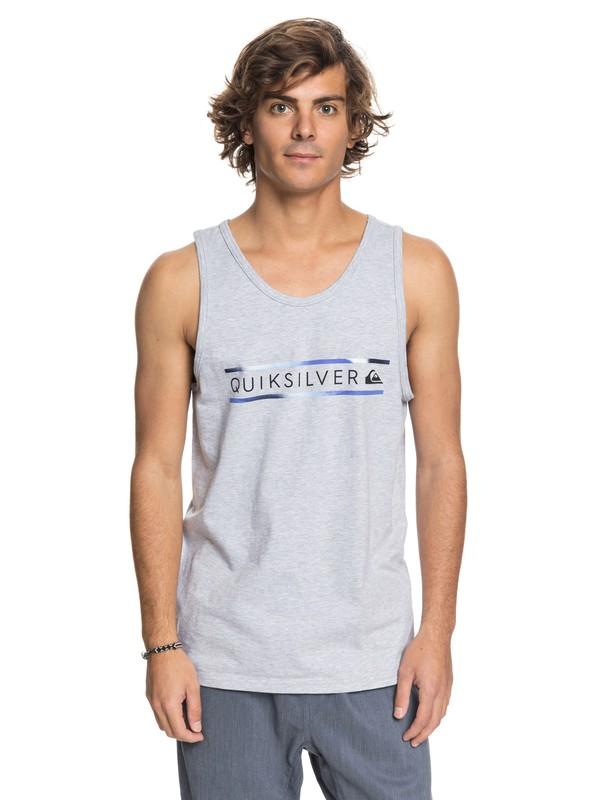 0 Men Schwack Camiseta  Tank sin Mangas Gris AQYZT05449 Quiksilver