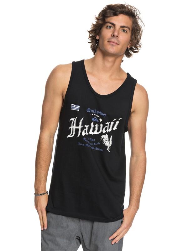 0 Hawaii Rooster - Tank Black AQYZT05451 Quiksilver