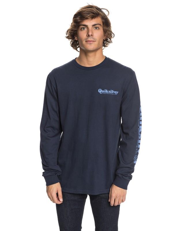 0 Twin Fin Mates - Long Sleeve T-Shirt  AQYZT05453 Quiksilver