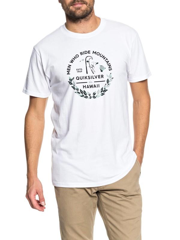 0 MWRM Legend - T-Shirt White AQYZT05495 Quiksilver
