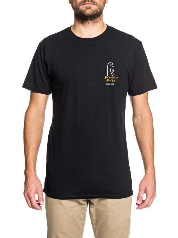 0 MWRM Petroglyph - T-Shirt Black AQYZT05496 Quiksilver