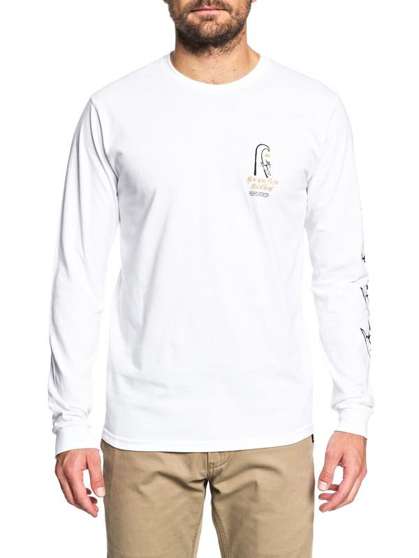 0 MWRM Petroglyph - Long Sleeve T-Shirt  AQYZT05499 Quiksilver