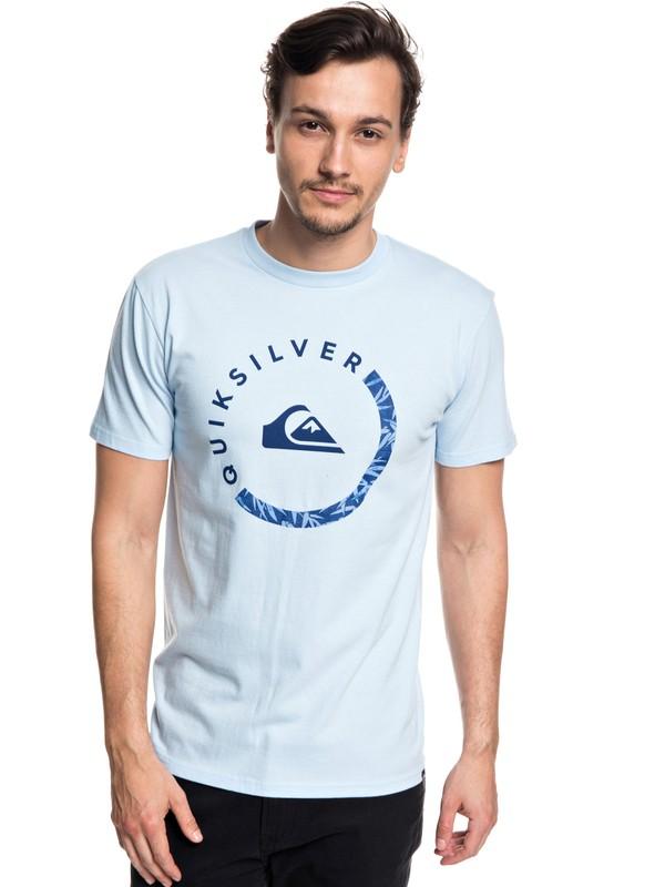 0 Hombres Camiseta Slab Session Azul AQYZT05533 Quiksilver