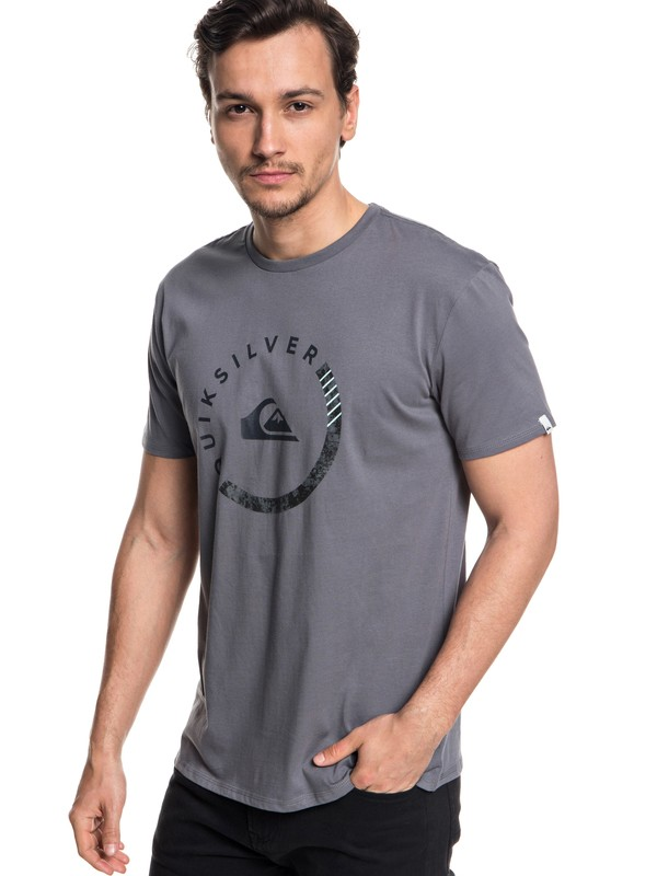 0 Slab Session Tee Black AQYZT05533 Quiksilver
