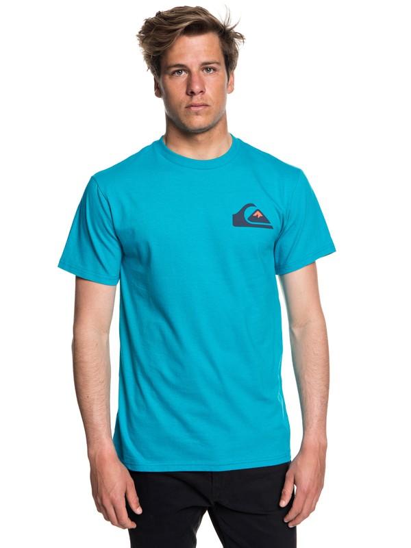 0 Hombres Camiseta Vice Versa Azul AQYZT05540 Quiksilver