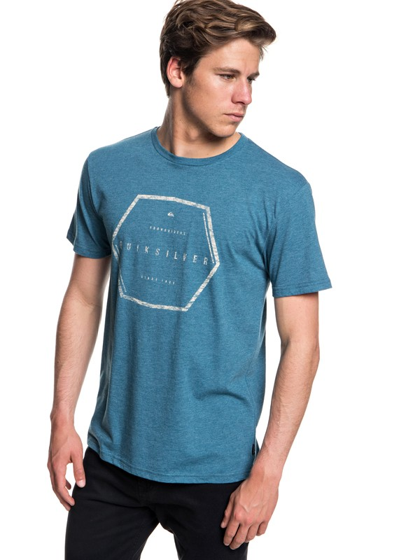 0 Northern Nomad Tee Blue AQYZT05552 Quiksilver