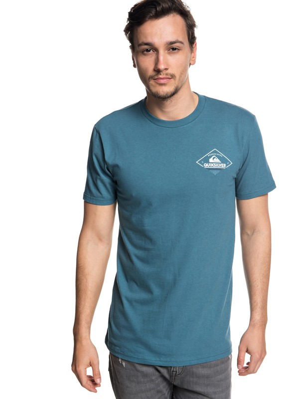 0 Hombres Camiseta Bermuda Azul AQYZT05562 Quiksilver