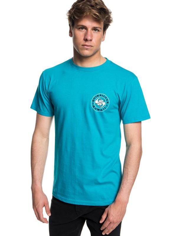 0 HI Flashback - T-Shirt Blue AQYZT05603 Quiksilver