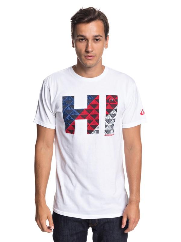 0 Hawaii Hi Tee White AQYZT05797 Quiksilver