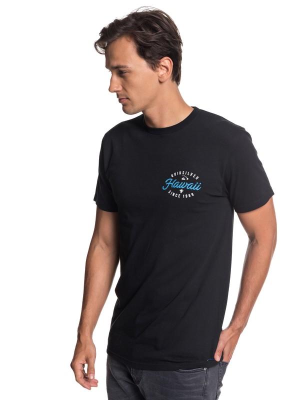 0 Hawaii Store Front Tee Black AQYZT05798 Quiksilver