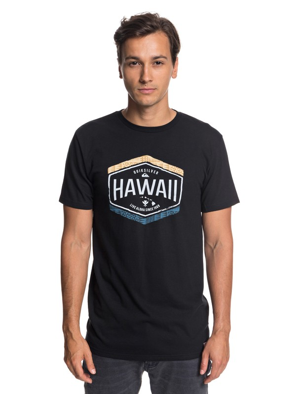 0 Hawaii Money Tee Black AQYZT05799 Quiksilver