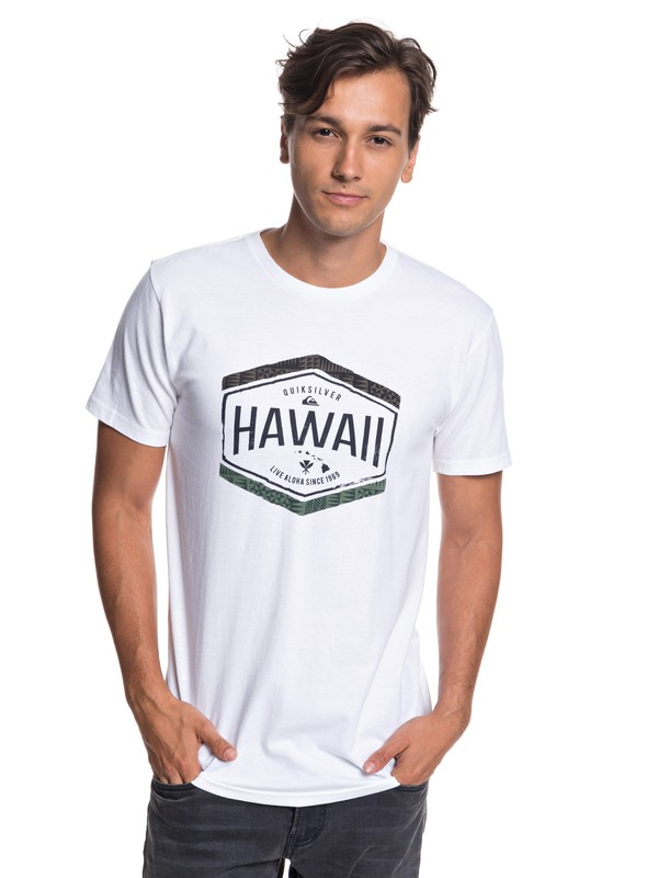 0 Hawaii Money Tee White AQYZT05799 Quiksilver
