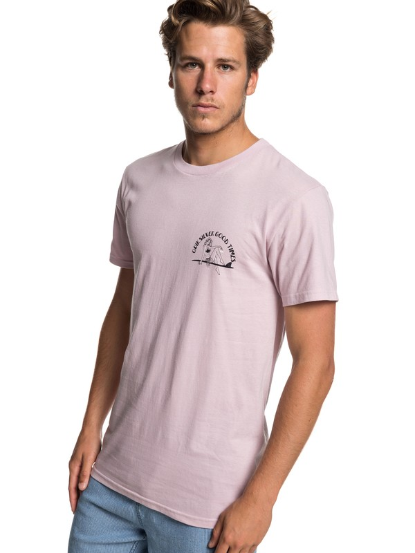 0 Kid Atypical Tee Pink AQYZT05919 Quiksilver