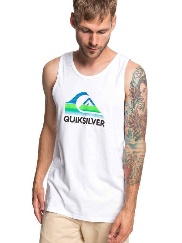 0 Waves Tank White AQYZT05946 Quiksilver