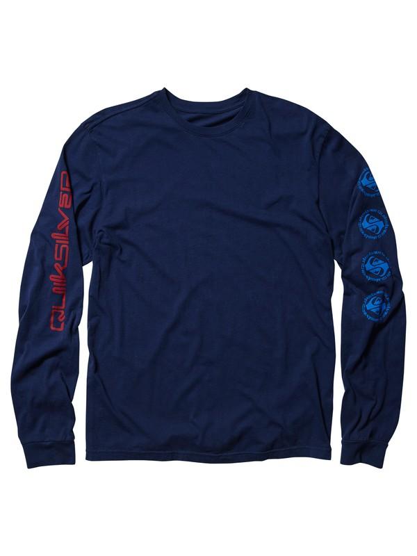 0 Omni Hazard - Long Sleeve T-Shirt  AQYZT05989 Quiksilver