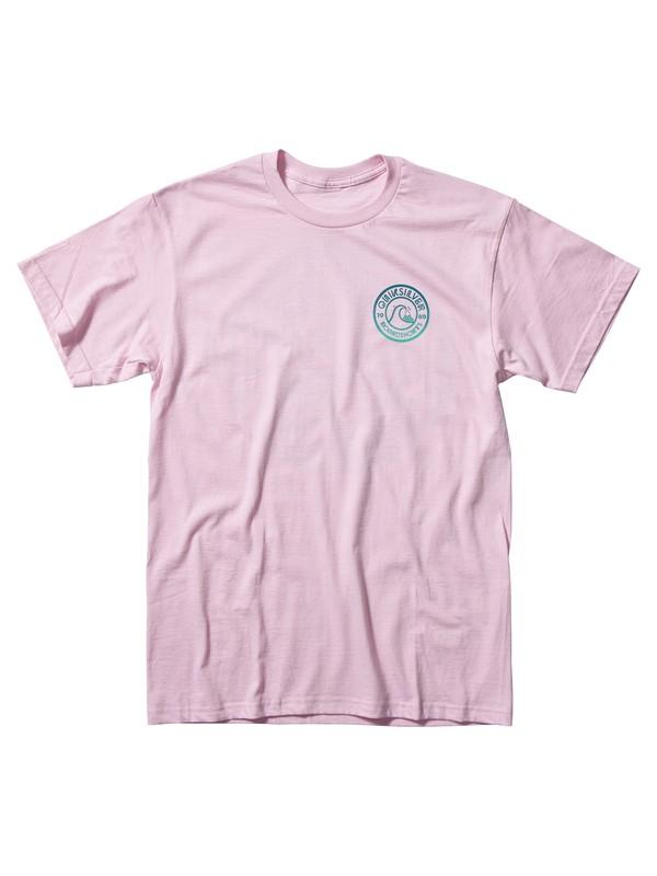 0 Original Tee Pink AQYZT06017 Quiksilver