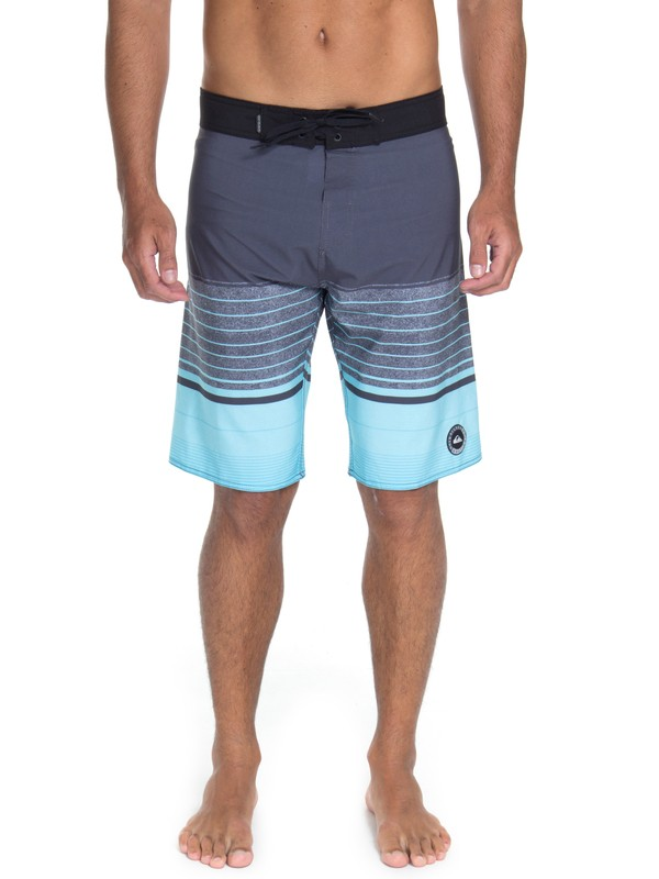 "0 Bermuda Boardshort Swell Vision 21"" Quiksilver Azul BR60012521 Quiksilver"