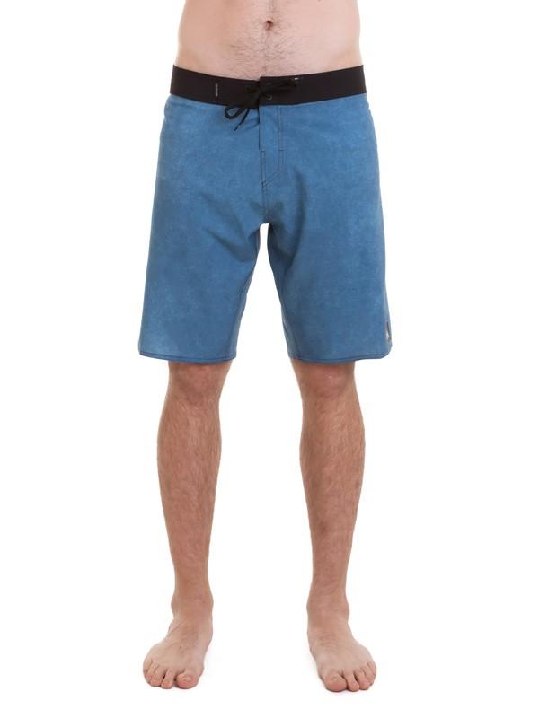 "0 Bermuda Boardshort Manic Mesh 21"" Quiksilver Azul BR60012569 Quiksilver"