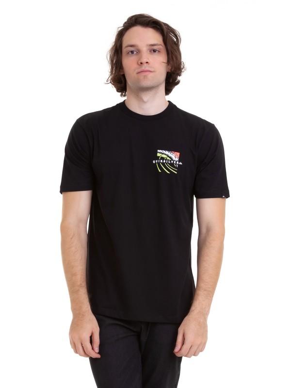 0 Camiseta Tropic Eruption Quiksilver Preto BR61114685 Quiksilver