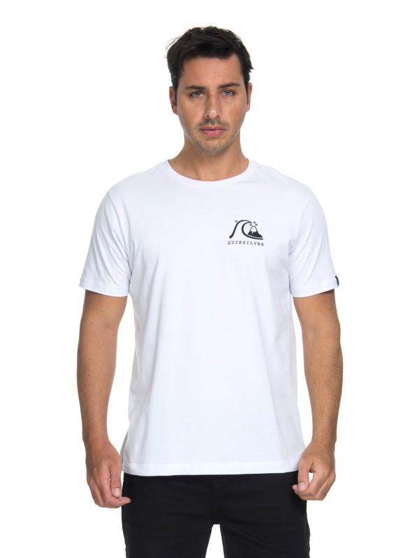 0 Camiseta Originals Pocket Quiksilver Branco BR61114693 Quiksilver