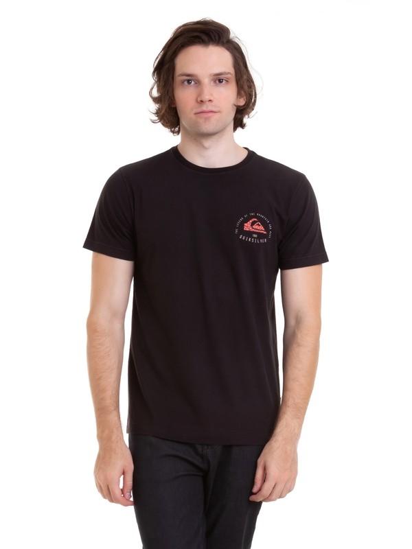 0 Camiseta Rising Giant Quiksilver Preto BR61143003 Quiksilver