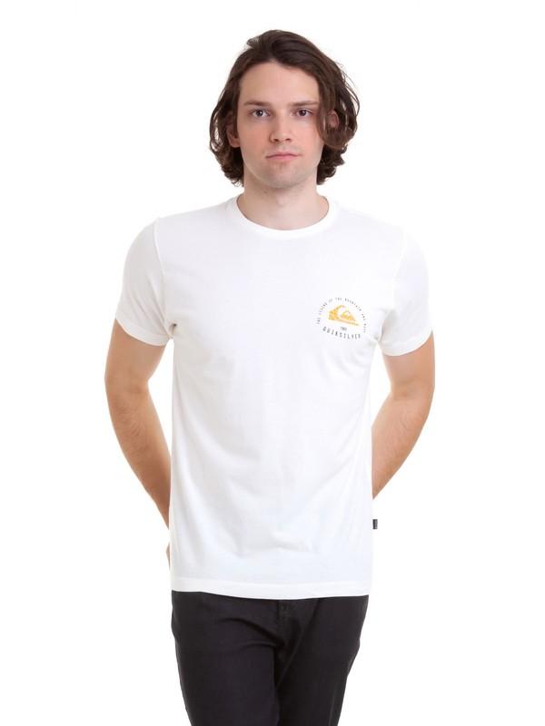 0 Camiseta Rising Giant Quiksilver Branco BR61143003 Quiksilver