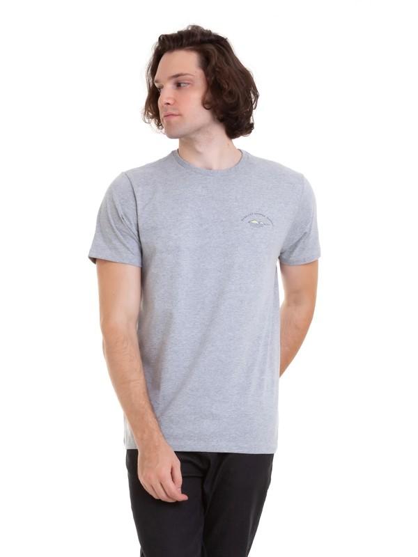 0 Camiseta Lady Bomb Quiksilver Cinza BR61241621 Quiksilver