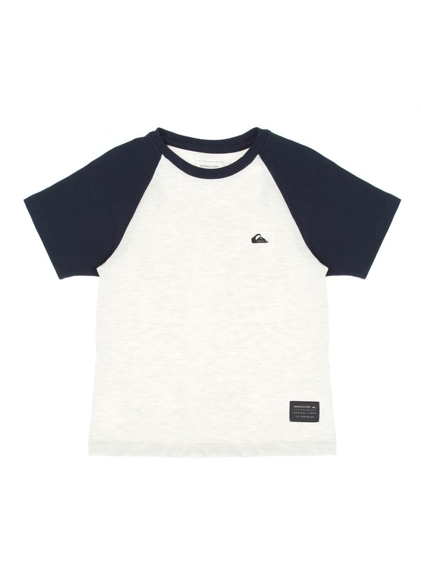 0 Camiseta Infantil Raglan Everyday Quiksilver  BR68141330 Quiksilver
