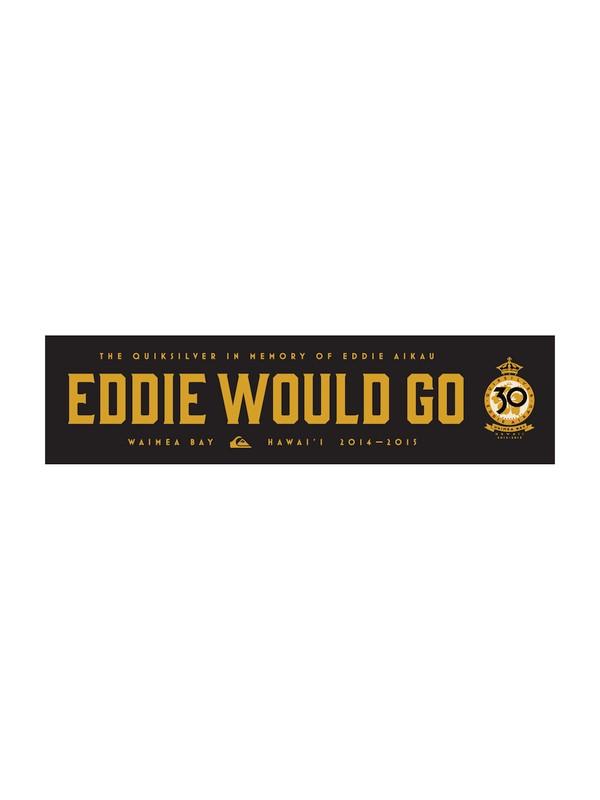 0 Eddie Sticker  EDSTICKER Quiksilver