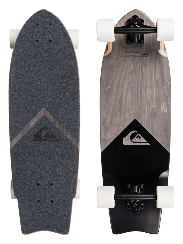 0 Skate Black Eye - Mittlerer Cruiser  EGL0BLKEYE Quiksilver