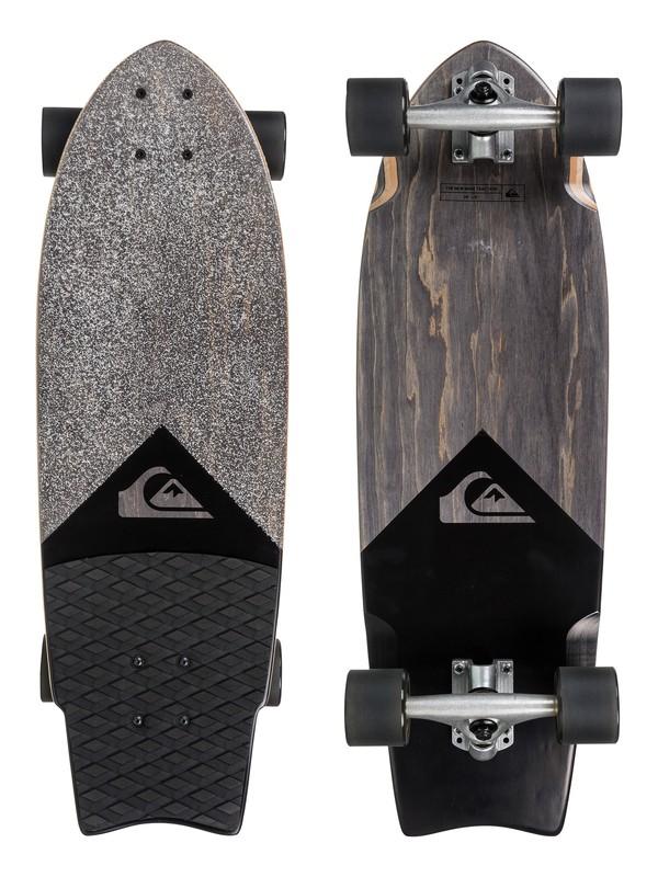 0 Black Traction - Skateboard Black EGLLSNWVUS Quiksilver