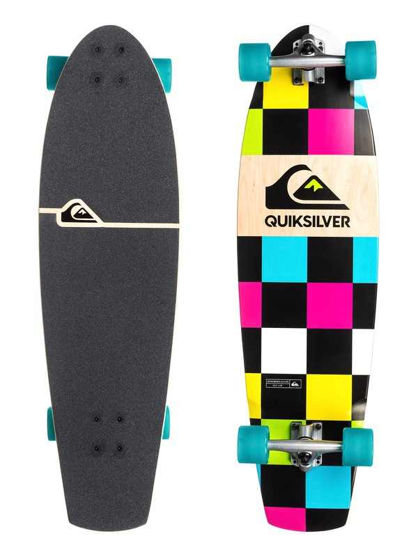 0 Echo Beach 35.5 Ltd - Cruiser Skateboard  EGLQSLSECL Quiksilver