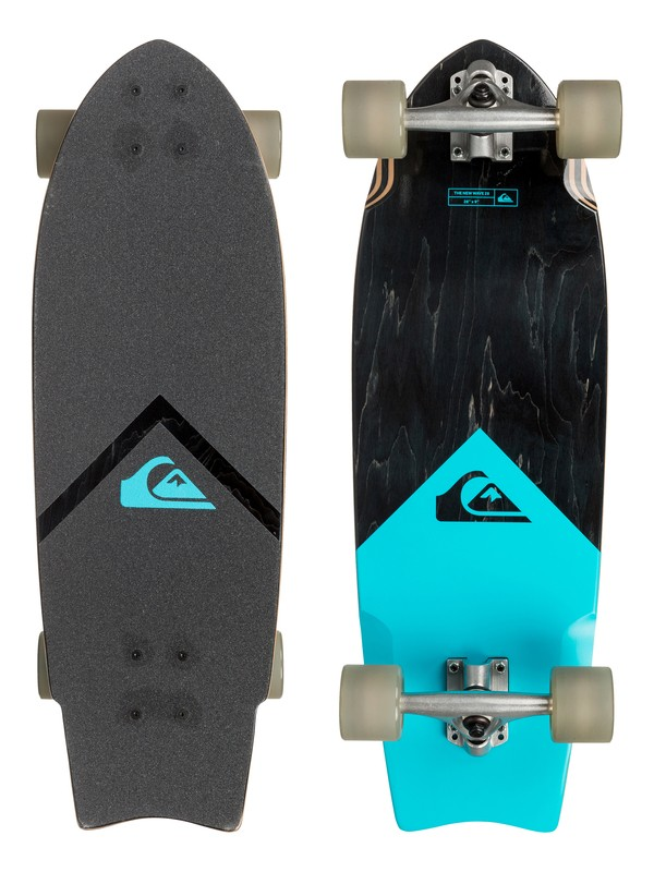 "0 The New Wave 28"" Cruiser Skateboard  EGLQSLSNWV Quiksilver"
