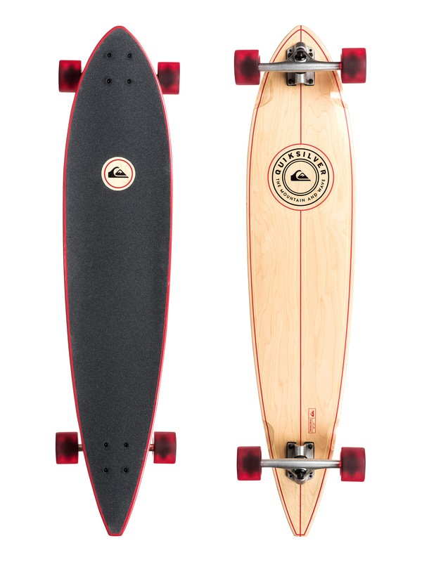 0 The Pin Line 42 Cruiser Skateboard  EGLQSLSPIN Quiksilver