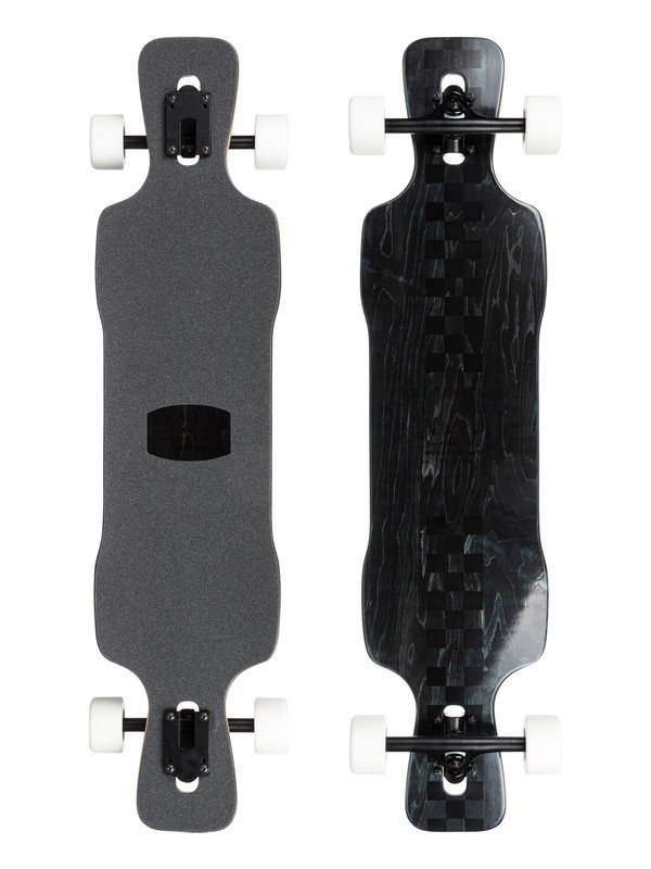 0 Racing Drift - Downhill Freestyle Longboard  EGLRACINGD Quiksilver