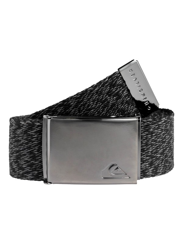 0 Boy's 8-16 The Jam Reversible Webbing Belt Black EQBAA03064 Quiksilver
