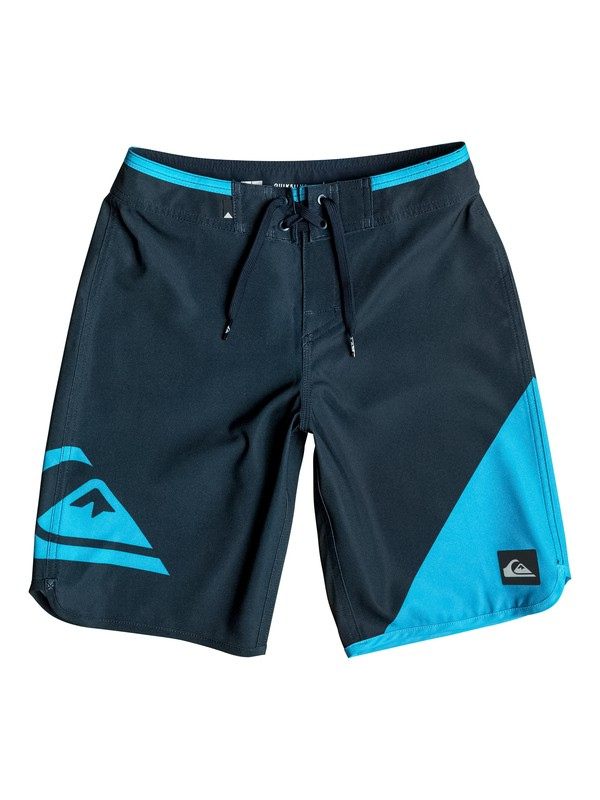"0 Boy's 8-16 New Wave Everyday 18"" Boardshorts  EQBBS03086 Quiksilver"