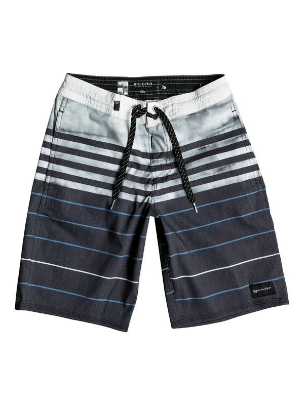 "0 Boy's 8-16 Swell Vision Dye Vee 18"" Boardshorts  EQBBS03093 Quiksilver"