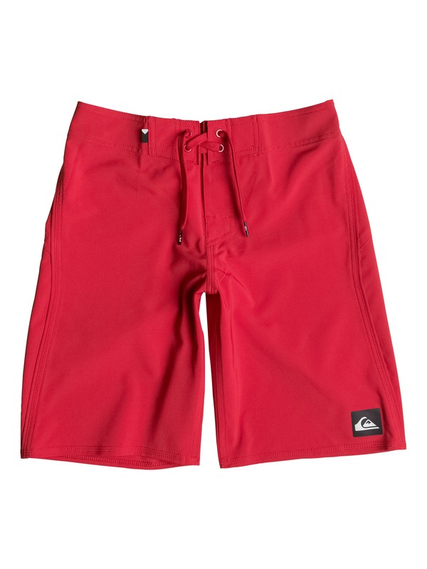 "0 Boy's 8-16 Everyday Kaimana Vee 18"" Boardshorts  EQBBS03105 Quiksilver"