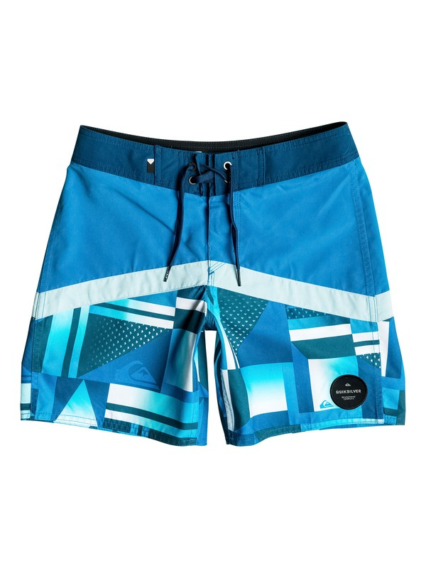 """0 Check Crypt Vee 15"""" - Boardshort  EQBBS03135 Quiksilver"""