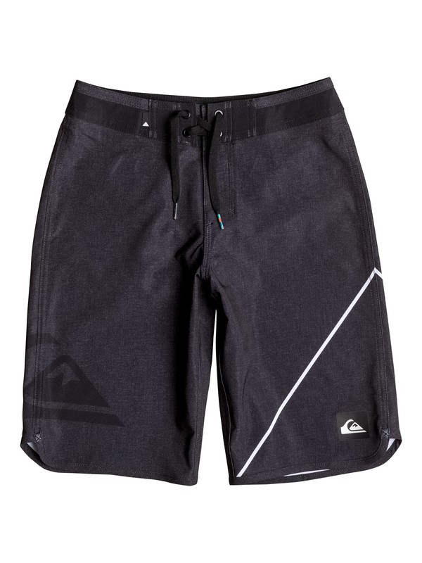 """0 Boy's 8-16 New Wave 19"""" Boardshorts  EQBBS03141 Quiksilver"""
