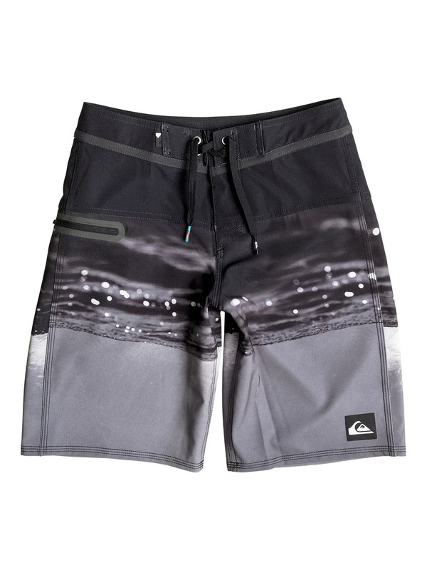 """0 Boy's 8-16 Hold Down Vee 18"""" Boardshorts  EQBBS03143 Quiksilver"""