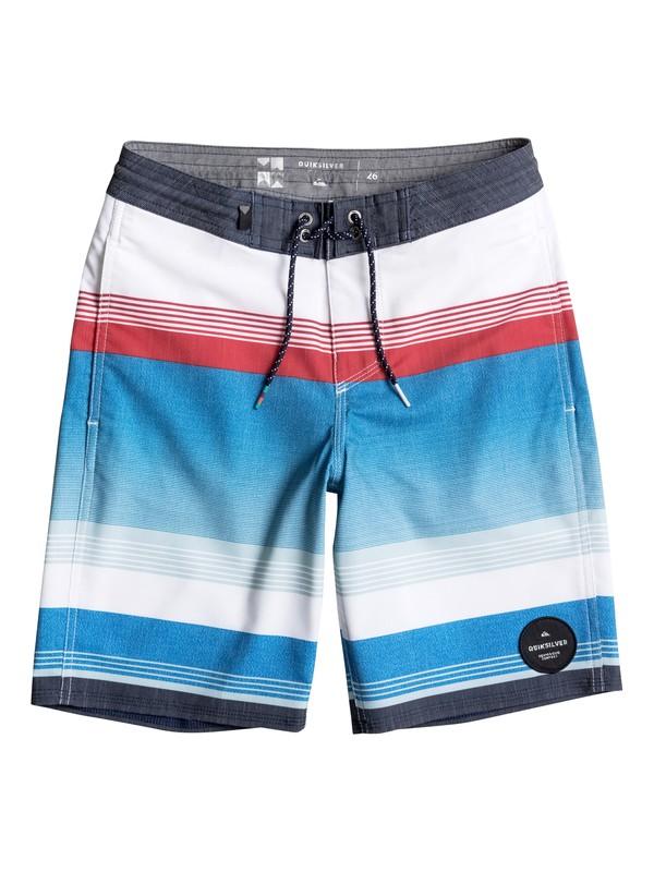"0 Boy's 8-16 Swell Vision 17"" Beachshorts  EQBBS03166 Quiksilver"