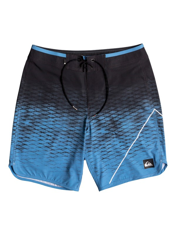 """0 Boy's 8-16 New Wave 18"""" Boardshorts  EQBBS03209 Quiksilver"""